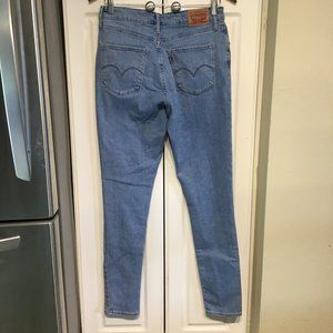 Levi's 721 High Rise Skinny Jeans Size 31